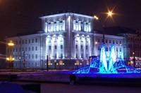 освещение фасадов в Саранске
