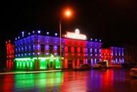 Наружное освещение: архитектурное освещение зданий и фасадов в г.Саранск