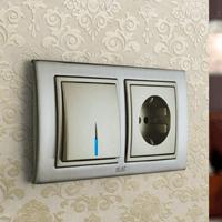 Установка выключателей в Саранске. Монтаж, ремонт, замена выключателей, розеток Саранск.